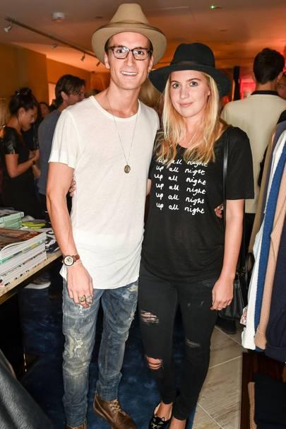 Oliver Proudlock and Marissa Montgomery