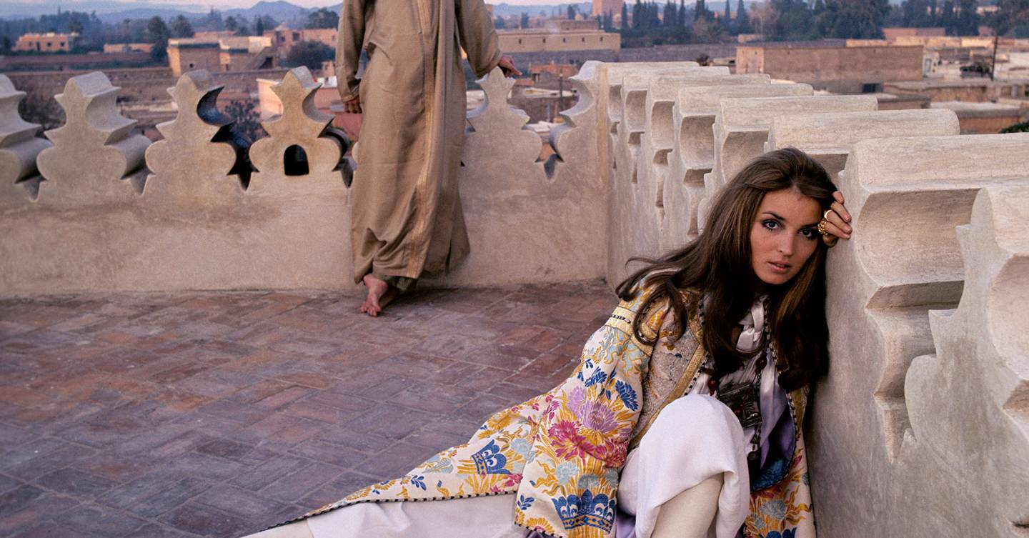 49 years since her tragic death, Talitha Getty's boho style continues to inspire