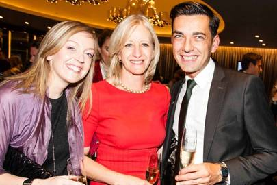 Laura Brown, Patricia Stevenson and Igor Mitric