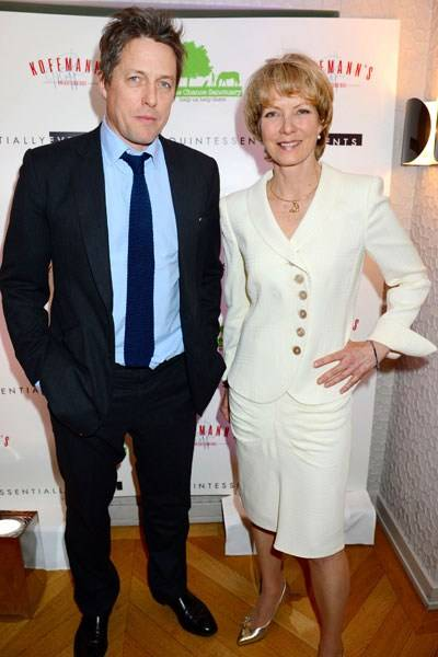 Hugh Grant and Jenny Seagrove
