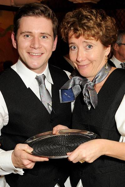 Allen Leech and Emma Thompson