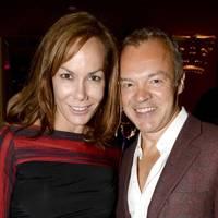 Tara Palmer-Tomkinson and Graham Norton