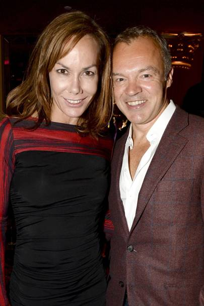 Tara Palmer-Tomkinson and Graham Norton