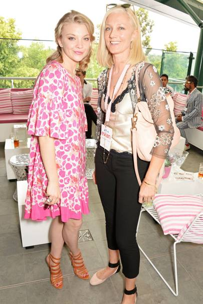 Natalie Dormer and Joely Richardson