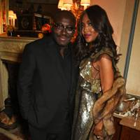 Edward Enninful and Naomi Campbell