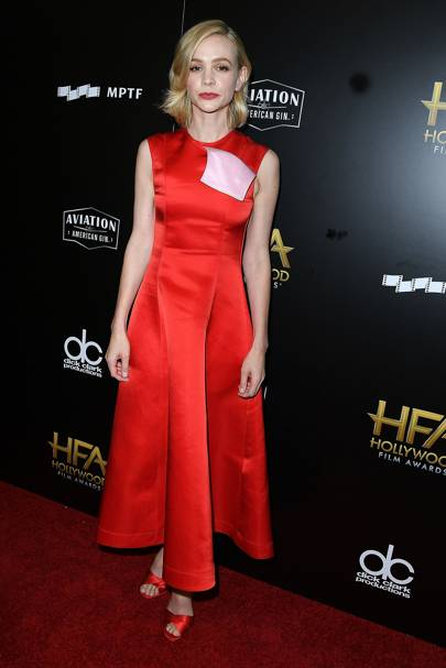 Wearing Calvin Klein at the Hollywood Film Awards, 2017.