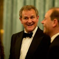Hugh Bonneville and The Earl of Wessex