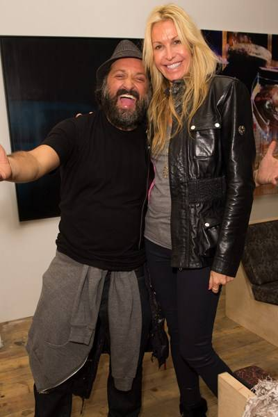 Mr Brainwash and Melissa Odabash