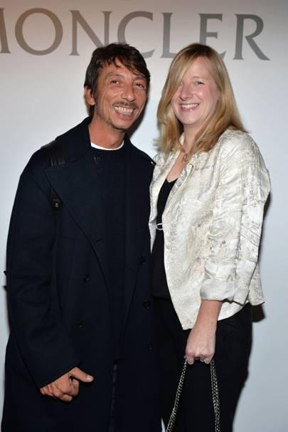 Paolo Piccioli and Sara Burton