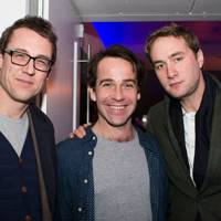 Tobias Menzies, Jonjo O'Neill and Oliver Chris