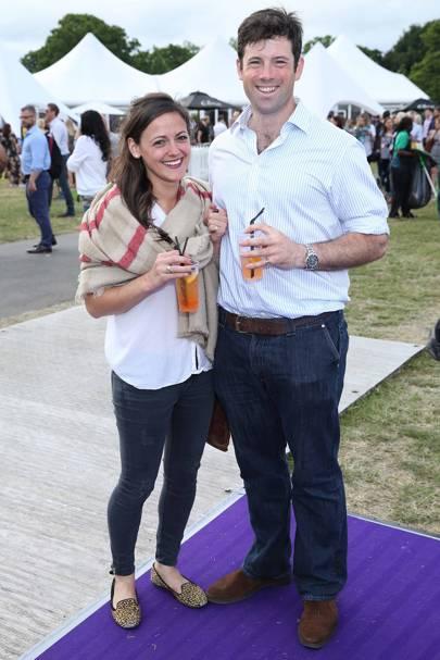 Jenni Sunderland and Edward Young