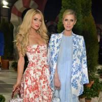 Paris Hilton and Nicky Hilton Rothschild attend Oscar de la Renta