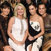 Monica Mitro, Sharon Turney, Amber Le Bon and Yasmin Le Bon