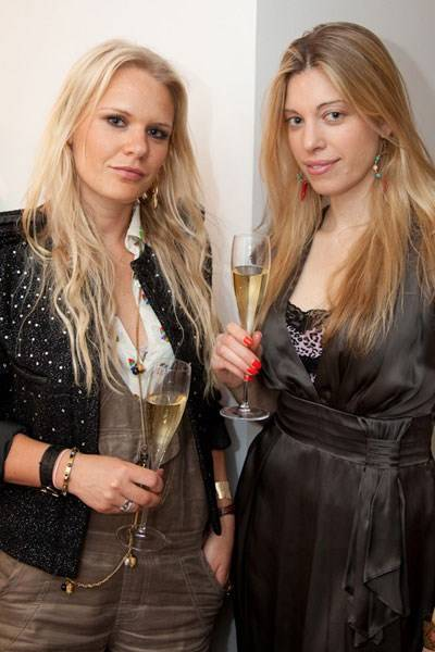 Anna Svensson and Lucy Land