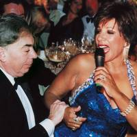 Lord Lloyd-Webber and Shirley Bassey Lookalike
