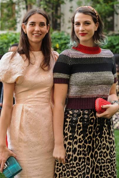 Viola Arrivabene Valenti Gonzaga and Madina Visconti  Di Modrone