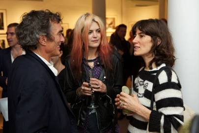 Adam Alvarez, Alison Mosshart and Bella Freud