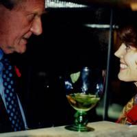 Michael Heseltine and Mrs Simon Jenkins