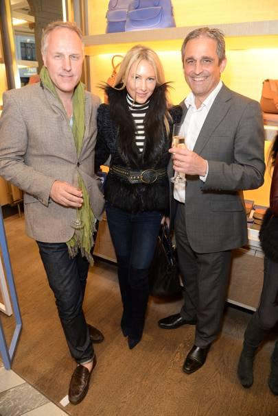 Simon Mills, Adela King and Mike Rebello