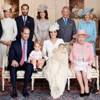 Michael Middleton, Pippa Middleton, The Duke of Cambridge, Prince George, James Middleton, Carole Middleton, The Duchess of Cambridge, Princess Charlotte, The Prince of Wales, The Queen, The Duchess of Cornwall and The Duke of Edinburgh