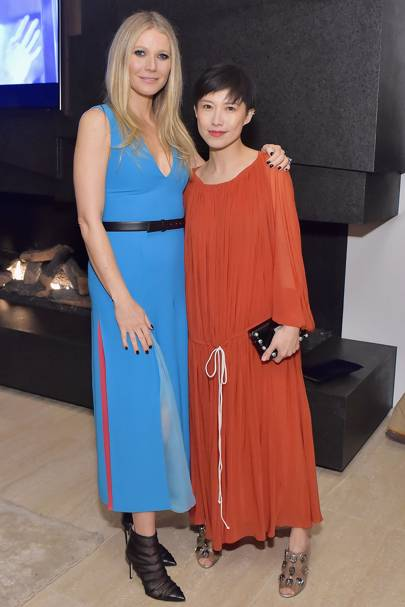 Gwyneth Paltrow and Sandra Choi