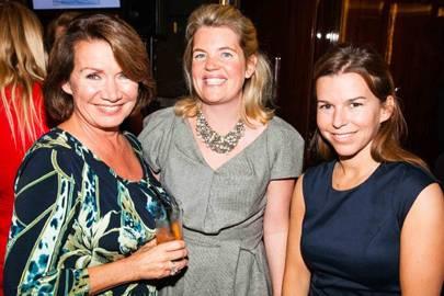 Ann Sadler, Daisy Finer and Katharine Tetley