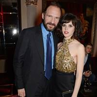Ralph Fiennes and Felicity Jones