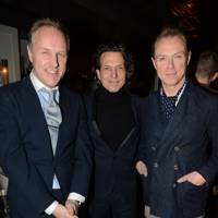 Simon Mills, Stephen Webster and Gary Kemp