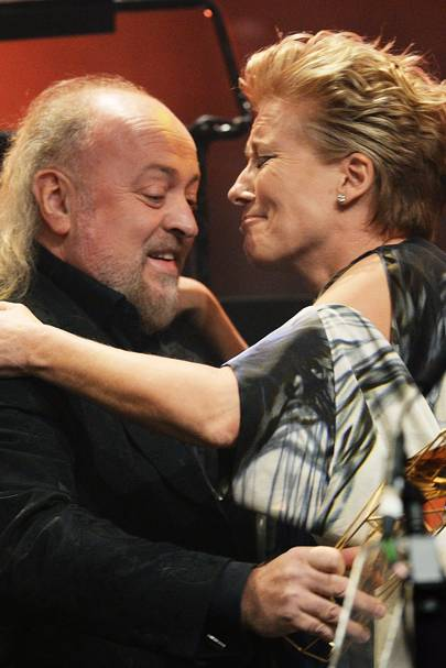 Bill Bailey and Emma Thompson