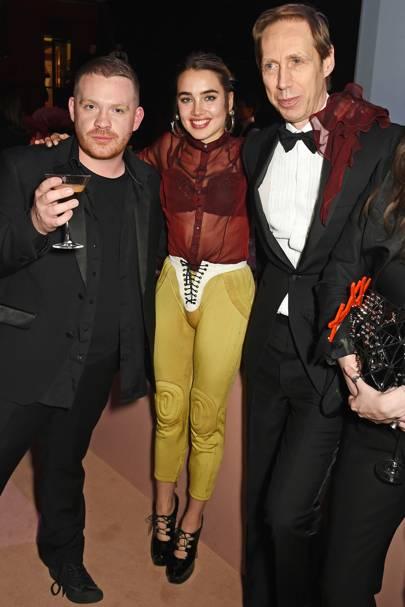 Craig Green, Isamaya Ffrench and Nick Knight