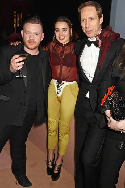 Craig Green, Isamaya Ffrench and Nick Knight