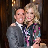 Frankie Dettori and Emilia Fox