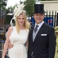 Lara Stone and David Walliams