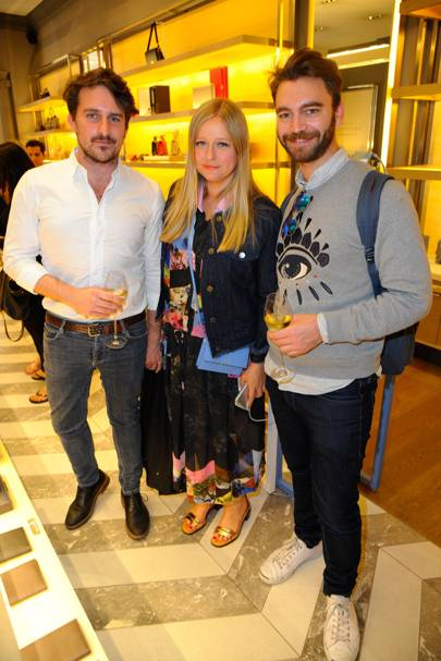 Paolo Ciccarelli, Sasha Wilkins and Nick Flynn