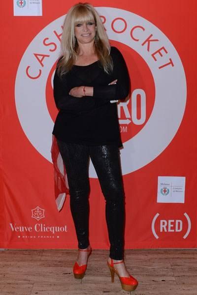 Jo Wood in Milan