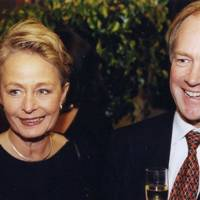 Mrs Peter Lilley and Peter Lilley
