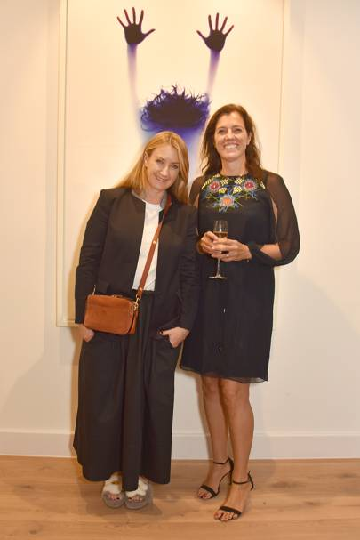 Anya Hindmarch and Nicky Carter