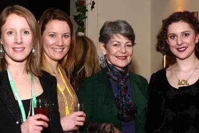 Alison Fanshawe, Nicola Hart, Annabel Czyba and Isabel Czyba