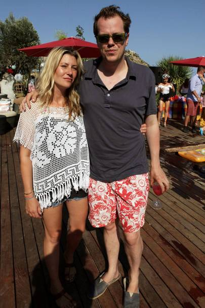 Sara Parker Bowles and Tom Parker Bowles