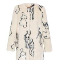 Shrimps faux-fur coat