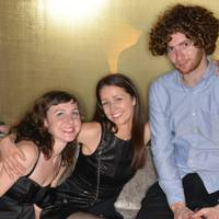 Lucy Bower, Nina Godfrey and Matthew Lawes