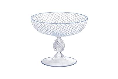 Glass champagne saucer