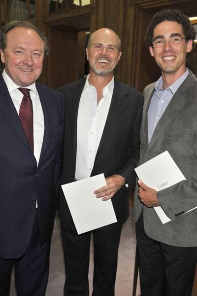 Neil Hobday, Stefan Sund and Ludovic Pailloncy