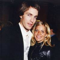 David Neville and Sienna Miller