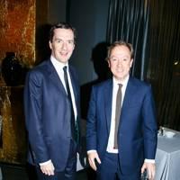 George Osborne and Geordie Greig