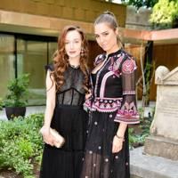 Olivia Grant and Amber Le Bon