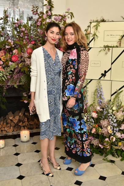 Caroline Issa and Alice Temperley