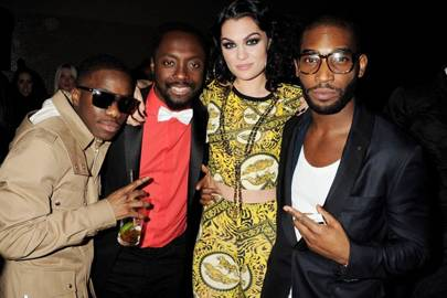 Tinchy Stryder, will.i.am, Jessie J and Tinie Tempah
