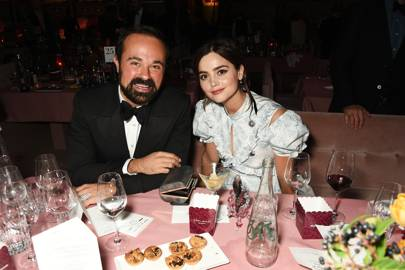 Evgeny Lebedev and Jenna Coleman