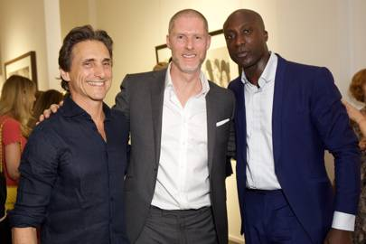 Lawrence Bender, Jean-David Malat and Ozwald Boateng